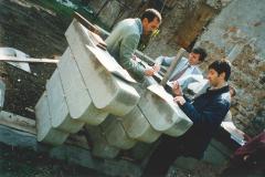 Studio del rifacimento dei beccatelli_2000