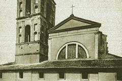 La Cattedrale di Nepi in una sua riproduzione antica
